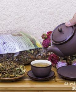 Chè dây trong trà sơn mật hồng sâm có tốt cho sức khỏe không? 2