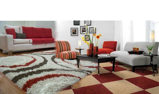 Thảm trải sàn giúp đôi chân bạn ấm áp hơn khi di chuyển trong nhà